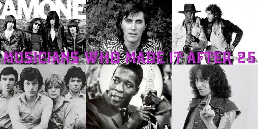 Diversity of Classic Rock- Musicians Who Made it after 25 Part 1