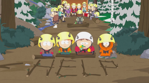 South Park I should have never gone ziplining