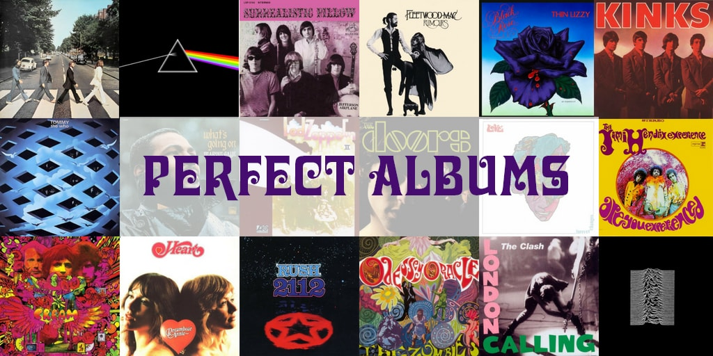 Perfect Albums of the 1960s and 1970s