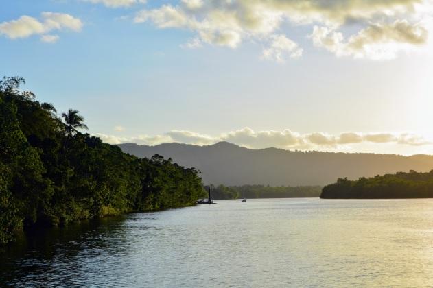 Leaving Daintree Rainforest