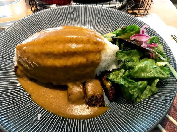 vegan seitan katsu curry from wagamama