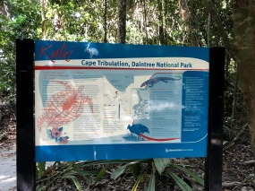 Cape Tribulation Welcome Sign