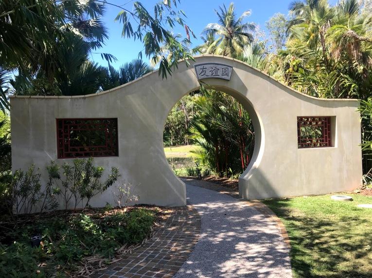Chinese Garden of Friendship Cairns