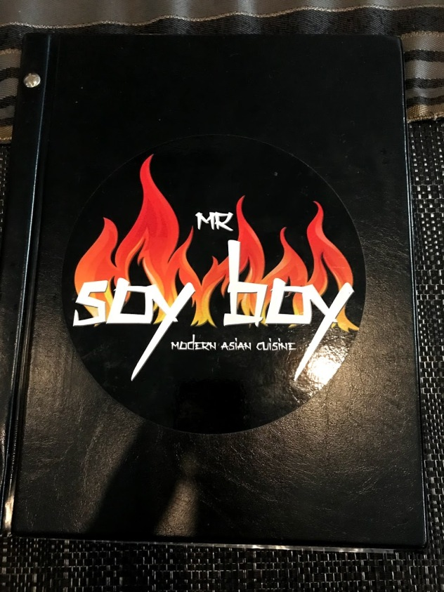 Mr Soy Boy Menu Cairns