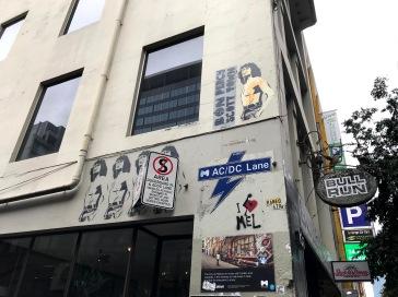 AC:DC Lane Street Sign