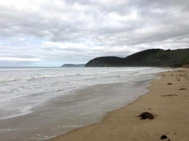Beach near Memorial Arch