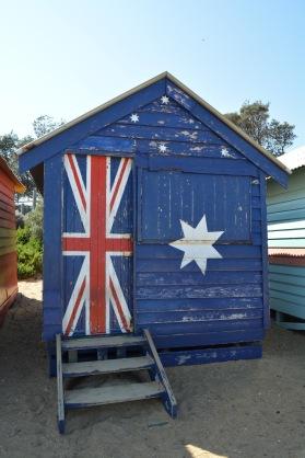 Brighton Beach Box Australian Flag