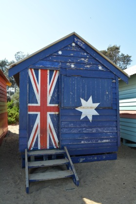 Brighton Beach Box Australian Flag