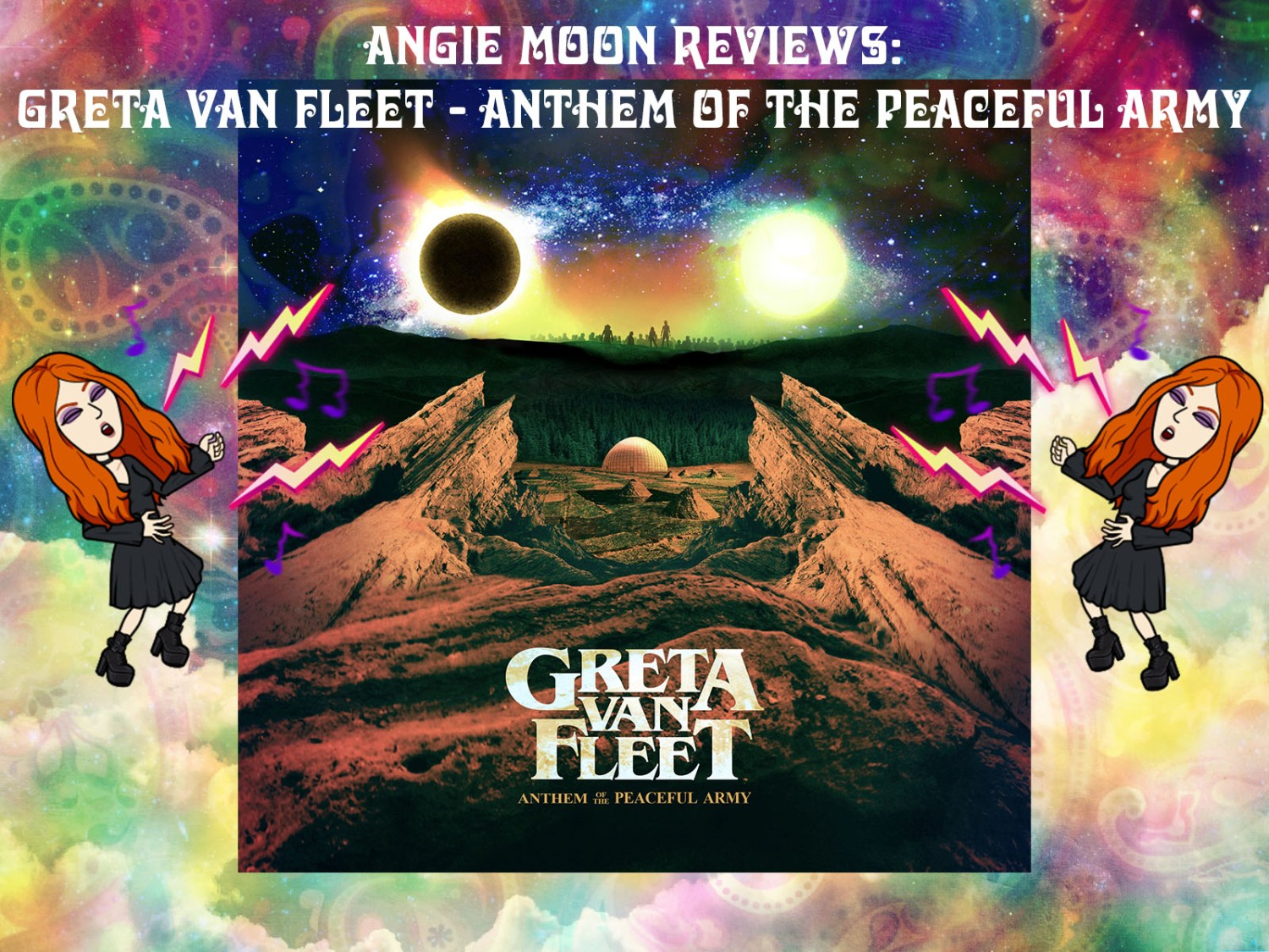 Greta Van Fleet Anthem of the Peaceful Army Review