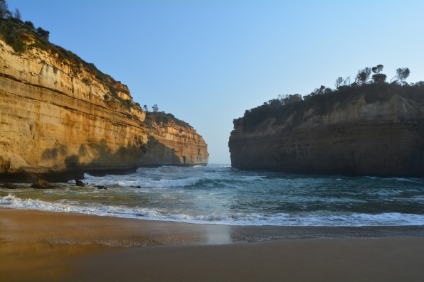 Loch Ard Gorge waves