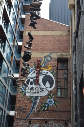 Shoes and Melbourne Street Art