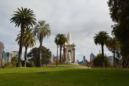 Statue Royal Botanic Gardens