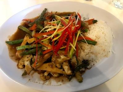 Thaihouse Vegan Dish Apollo Bay