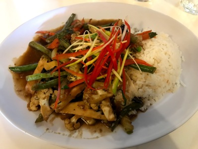 Thaihouse Vegan Dish Apollo Bay