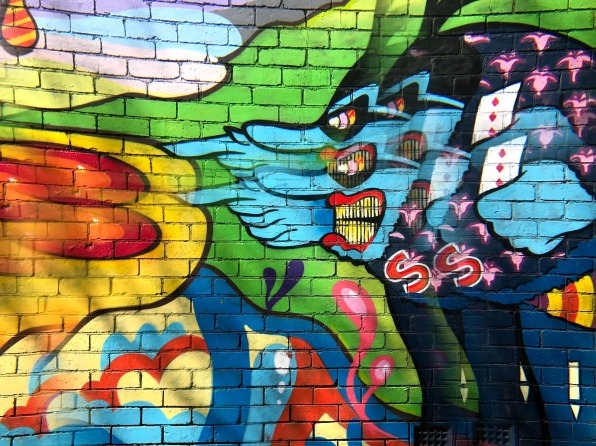 Trippy Blue Meanie St Kilda