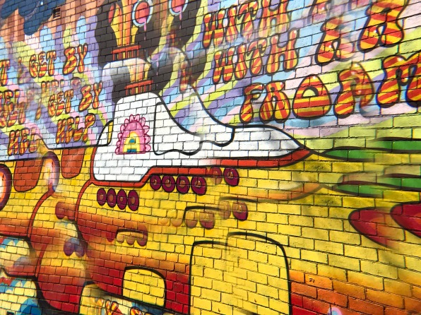 Trippy Yellow Submarine St Kilda