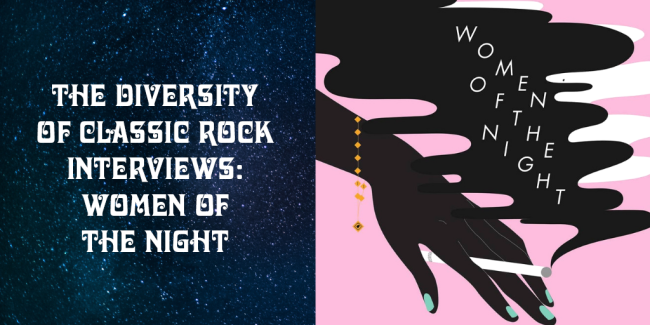 Angie Moon of The Diversity of Classic Rock interviews NYC proto-punk/garage rock band Women of the Night