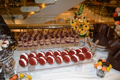 Independence of the Seas NYE dessert table 2
