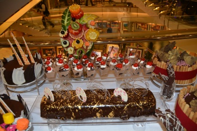 Independence of the Seas NYE dessert