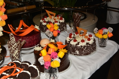 Independence of the Seas NYE dessert table