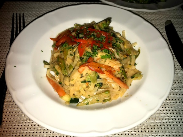 Special vegan meal Independence of the seas pad thai
