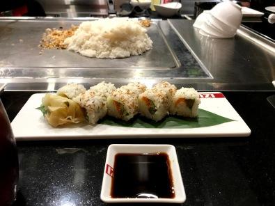 Izumi Independence of the Seas vegan sushi