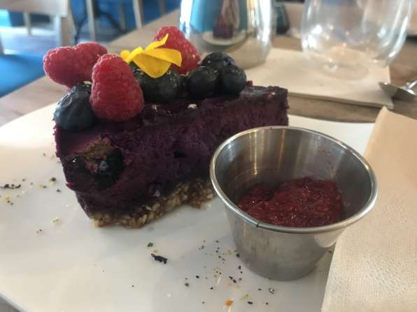 Copia Green Limerick Vegan Berry Cheesecake