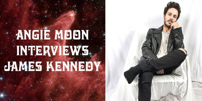 Angie Moon Crazy on Classic Rock Interviews James Kennedy
