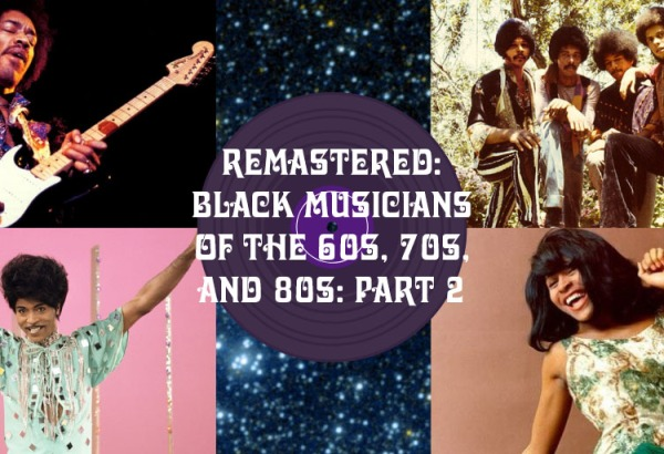 Black Classic Rock Musicians of the 60s and 70s – The Diversity of