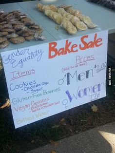 1a19faf527bab861d11f2cad22e404b6--wage-gap-bake-sale-cookies