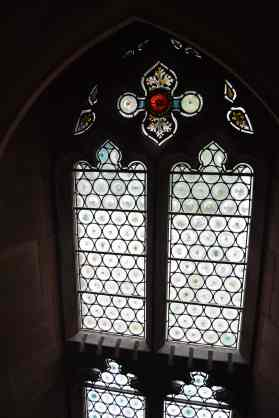 John Rylands Library stained glass