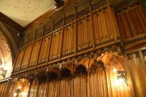 John Rylands Library interior