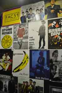 Music Posters at Afflecks Manchester