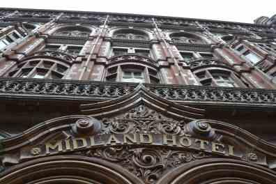 Midland Hotel Manchester Closeup