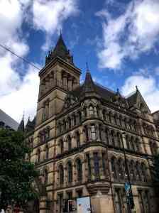 Manchester architecture vertical
