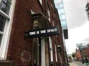 This is the space Manchester