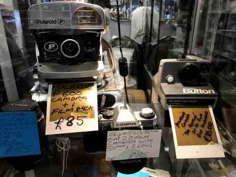 Polaroid Cameras at Afflecks Manchester
