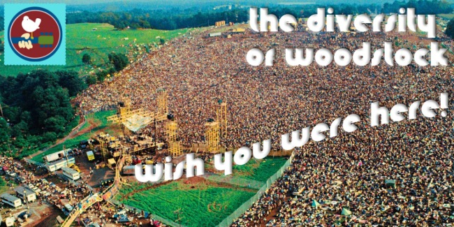 The Diversity of Woodstock - Crazy on Classic Rock