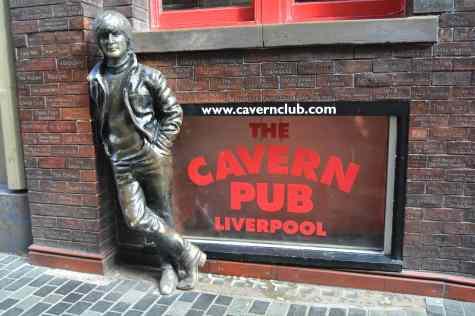 John Lennon Statue Mathew Street Liverpool