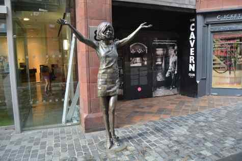Cilla Black Statue Mathew Street Liverpool