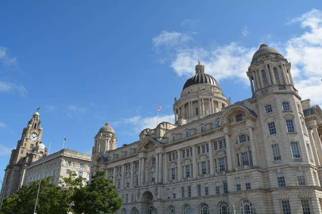 Liver Building, Cunard Building, and Port of Liverpool Building
