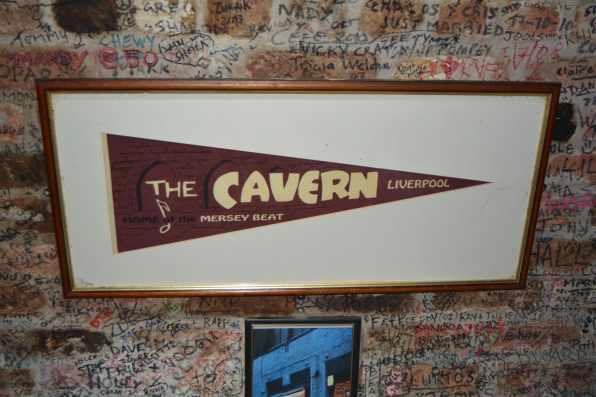Cavern Club Liverpool Pennant