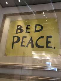 Bed Peace Sign