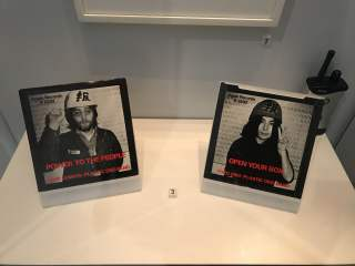 John and Yoko Power to the People Open Your Box