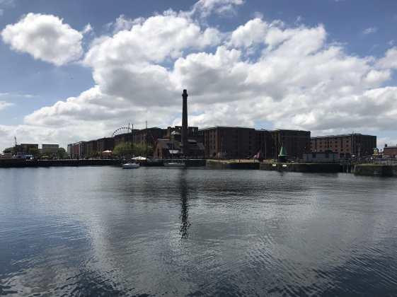 Docks view Liverpool