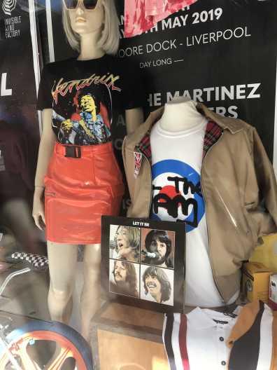 The Jam and Jimi Hendrix Shirt - vintage shop