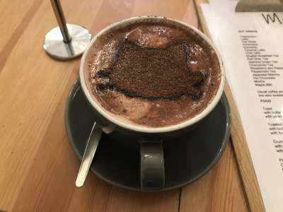 Cat Cafe Liverpool Hot Chocolate