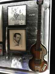 Klaus Voormann bass and Eric Clapton picture Cavern Club
