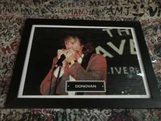 Donovan Picture Cavern Club