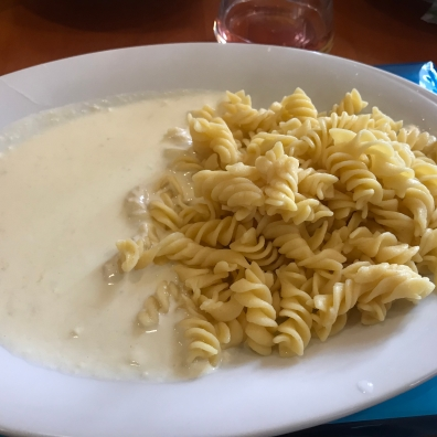 Bad Excelsior Food 2 - Not Vegan - Cheesy Pasta